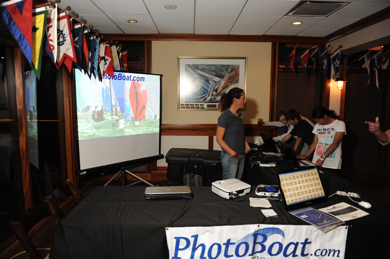 PhotoBoat Regatta Display